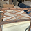 Thumbnail: Mid to Late 20th Century Faux Bamboo & Trellis Mirror by Kindel Furniture