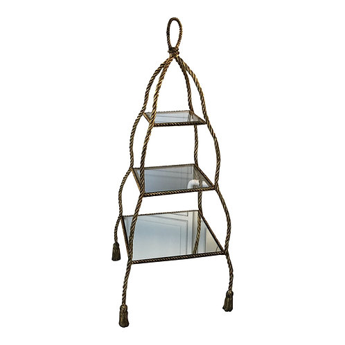 Gold Tiered Serving Stand