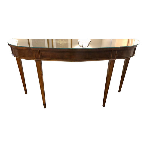 Henredon Hepplewhite Mahogany Sofa Table