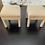 Thumbnail: Late 20th Century Vintage Parsons Stools- a Pair