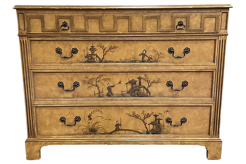 Vintage Chinoiserie Chest by John a Colby