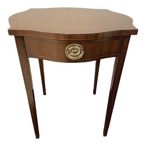 Late 20th Century Hepplewhite Side Table by Drexel Heritage