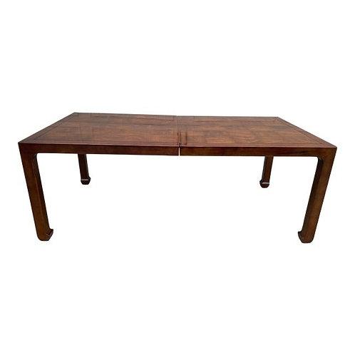 Late 20th Century Henredon Ming Style Mahogany Dining Table