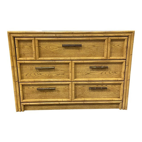 Chinoiserie Faux Bamboo Dresser/Chest