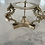 Thumbnail: Late 20th Century Hand Cut Crystal Ball & Brass Stand