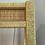 Thumbnail: Vintage Coastal Wicker Rattan Illuminated Etagere Display Cabinet