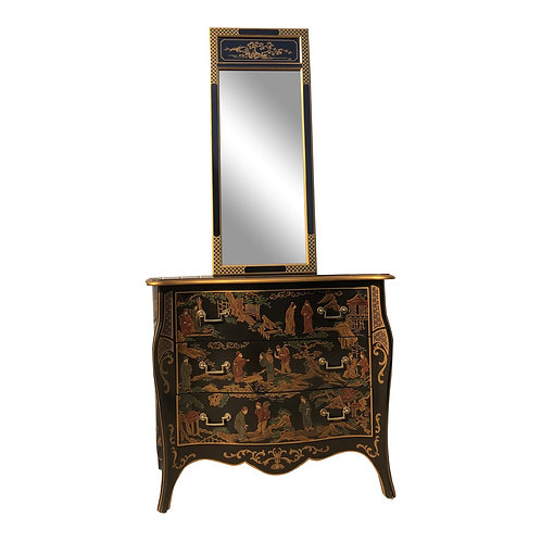 Drexel Heritage Et Cetera Chest & Mirror