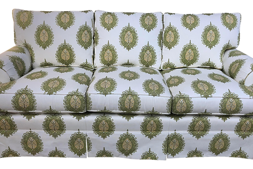 Modern Upholstered Ikat Print Sofa by Century Furniture