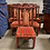 Thumbnail: Mid 20th Century Chinoiserie Asian Antique Style Dining Chairs- Set of 6