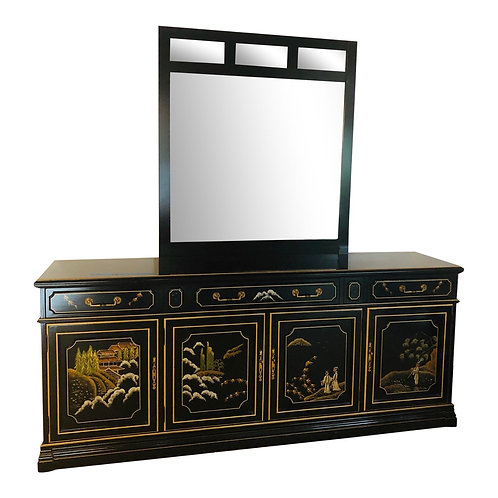 Jasper Furniture Chinoiserie Cabinet/Secretary