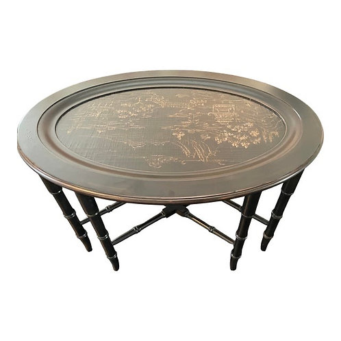 Chinoiserie Style Coffee Table by Ethan Allen