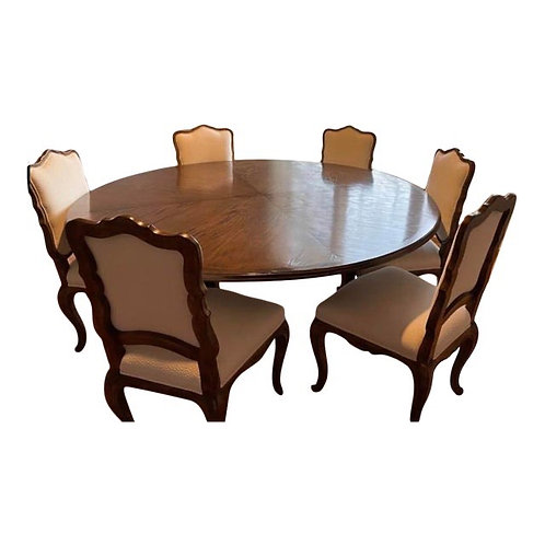 Vintage Dining Set by Interior Crafts- 7 Piece