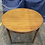 Thumbnail: Vintage Chinoiserie Faux Bamboo Dining Table