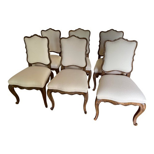 Vintage Interior Craft Dining Chairs- Set of 6