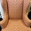 Thumbnail: Late 20th Century Upholstered Ikat Wingback Chair