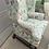 Thumbnail: Upholstered Wingback Chair & Ottoman Set