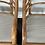 Thumbnail: Mid Century Pair Brown Jordan Sculpted Bent Rattan Dining Armchairs