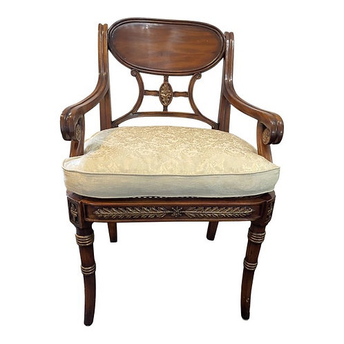 Theodore Alexander Neoclassical Accent Chair