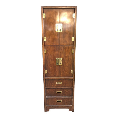"""Drexel Heritage """"Dynasty"""" Campaign Style Wardrobe Armoire- 2 available"""