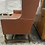 Thumbnail: Vintage Leather Settee by North Hickory Furniture Company