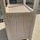 Thumbnail: Vintage Henry Link Wicker Illuminated Display Cabinet