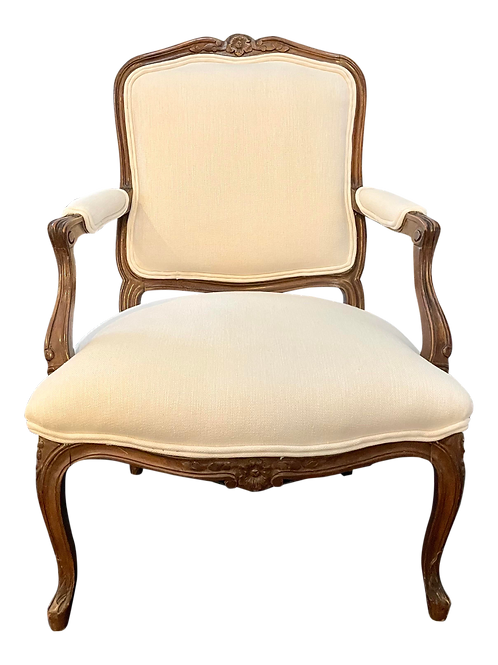 1960's French Louis XV Style Armchair