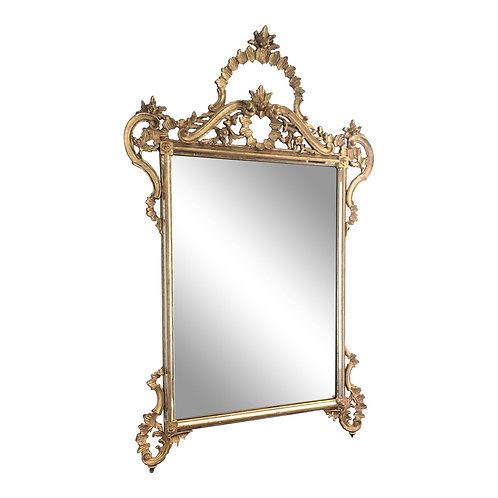 20th Century Giltwood Wall Mirror by Labarge