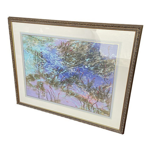 Late 20th Century Framed Oil Painting
