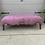 Thumbnail: Modern Pink Modern Upholstered Ottoman Coffee Table