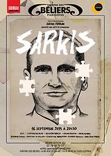 Affiche SARKIS pièce théâtre Ronan Vernon comédien
