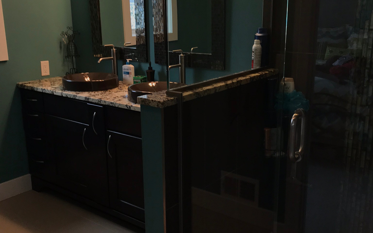 Disinfected Bathroom