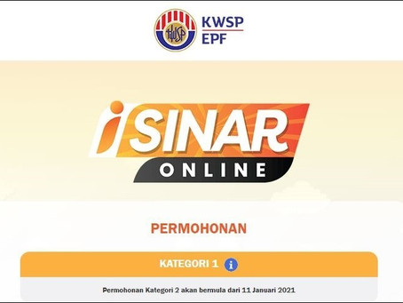 EPF i-Sinar applications are now open for category 1, here's how to apply