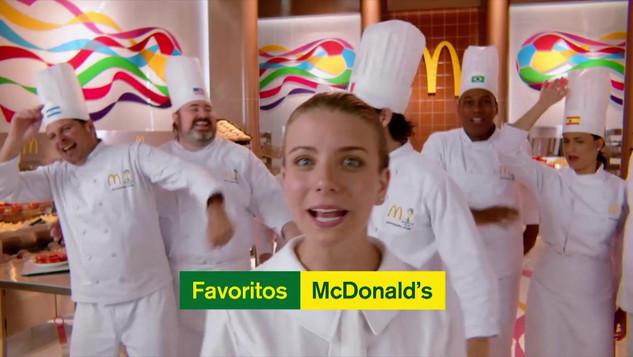 """4 Mc Donald's Favoritos 30"""""""