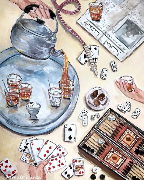 Editorial Illustrations by AsmaOriginal