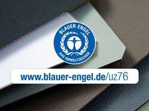 Blauwe Engel - Milieu certificaat