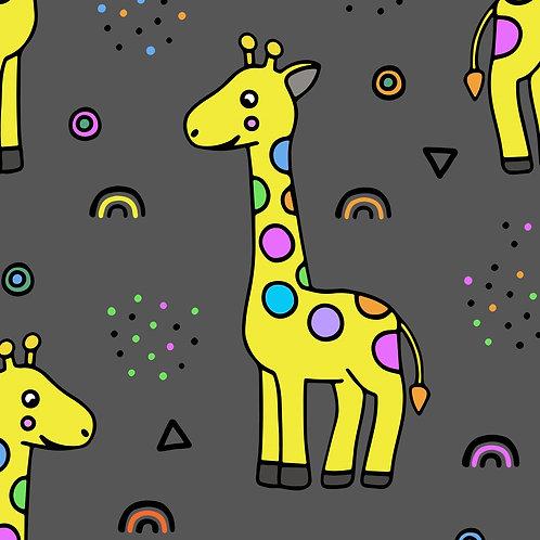Grey Giraffe Hoodie