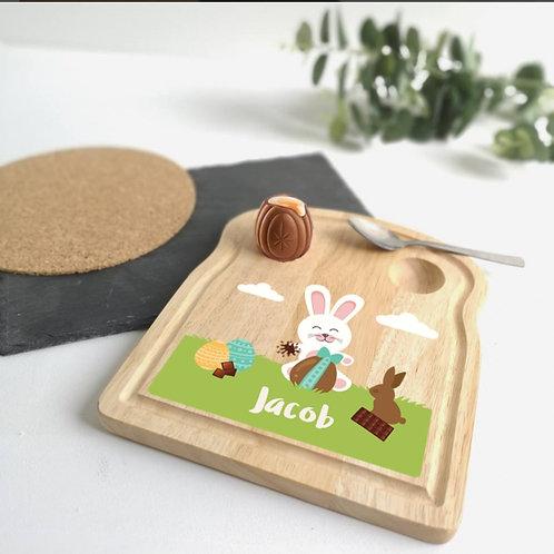 Easter bunny Egg holder plate