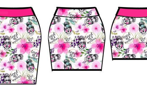 Mama pencil skirt