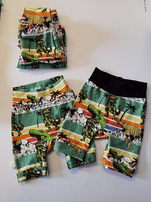 3-4YRS dino shorts