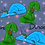 Thumbnail: Dinosnore Twirly Skirt