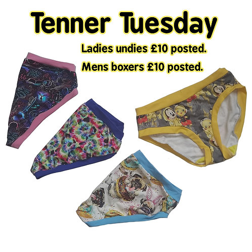 Tenner tuesday