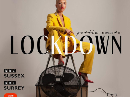 Lockdown - Catch Portia Emare this afternoon on BBC Sussex and BBC Surrey