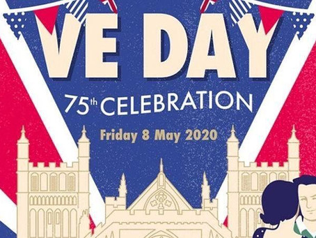 Celebrating VE Day Togeter  While Apart