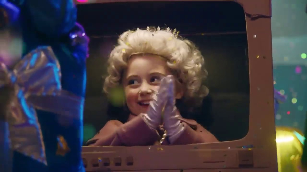 Mia in Sainsburys Christmas Ad