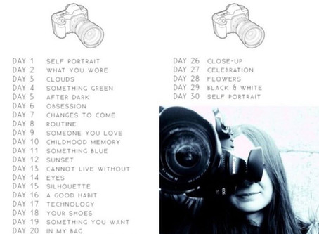 30 days of Photograpy Challenge