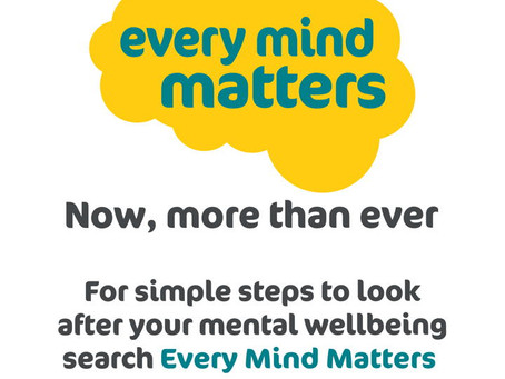 Every Mind Matters - Looking after your mental health