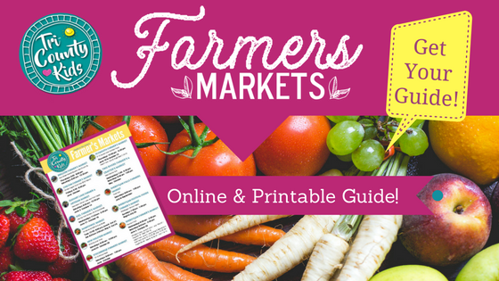 Find the Farmer's Markets!