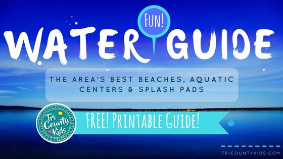 The Area's Best Beaches, Aquatic Centers & Splash Pads!