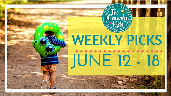 This Week:  Outdoor Concerts, Live Animals, Batman, Children's Theater, Foodie Fun& More!  J