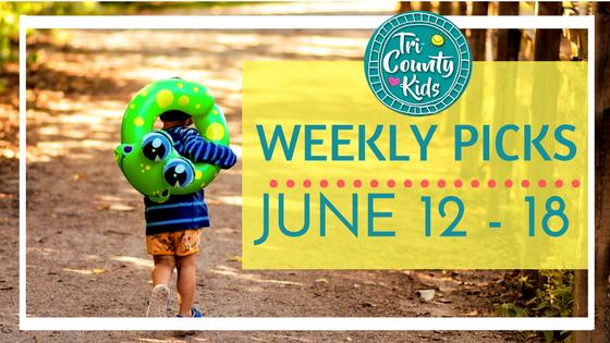 This Week:  Outdoor Concerts, Live Animals, Batman, Children's Theater, Foodie Fun& More!  J